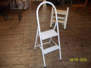 Step Ladder with Two Steps