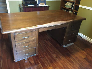 FREE!! BEAUTIFUL ANTIQUE solid wood desk