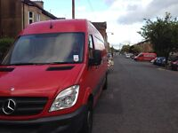 Long van and man £10 10% of all quotes for rest of jan