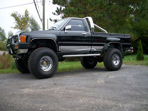 "1984 TOYOTA SR5 SPECIAL EDITION 4X4 ""SHOW TRUCK"""