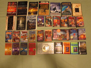 Great Collection Sc Fi & Epic Fantasy Books $4-$15/$150 for All