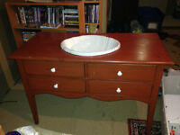 Bathroom Vanity Table with sink included