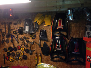 Revs sleds being parted out 2003-07 call 709-597-5150 lots parts St. John's Newfoundland image 4