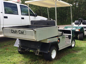 ~The Golf Cart Guy~  2008 CLUB CAR GAS UTILITY CART WITH ROOF
