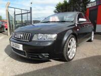 2004 Audi A4 S4 Quattro 4dr Tip Auto,2 keys,Full service history,12 months mo...