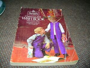 SIMPSON SEARS 1971 CHRISTMAS WISH BOOK