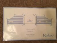 Kaloo cot bumper for baby boy