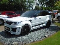 2014 64 Reg Land Rover Range Rover Sport 5.0 V8 Autobiography LUMMA CLR-SV (SVR)