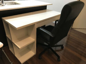Ikea Desk and Chair for Sale - Great Condition!
