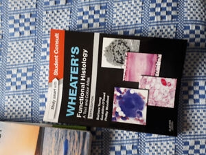Books for med lab tech prog nscc: anatomy, wheaters, med terms