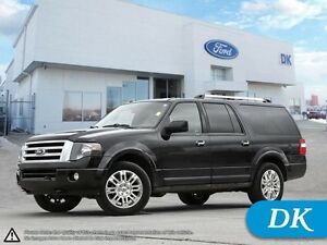 2012 Ford Expedition Max Limited w/Leather, Nav, and Much More!
