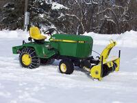 John Deere 430 Diesel Lawn and Garden Tractor