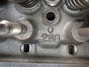 1964 1965 1966 Mustang 289 Heads, 4 BBL Carburetor, Breathers