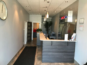 Commercial / Offices renovated space for rent 600sf plus basemen