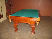 Table de Billiards Kingston