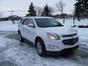 2016 Chevy Equinox LT AWD  2.4L.Safetied. Private sale NO GST