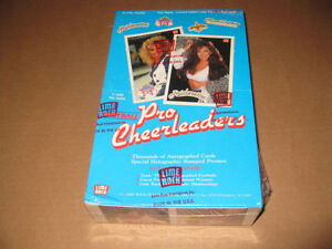 NFL Pro Cheerleaders, Sealed Box Collectors Cards