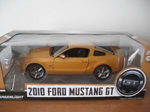 2010 - 2012 FORD MUSTANG GT by Greenlight NIB diecast 1/18 scale