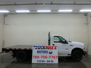 2003 Ford F-550 XLT Regular Cab 4x4 Diesel With Deck