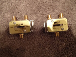 RCA VH71B - 2-Way Cable Switch -