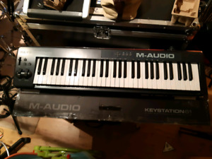 M-Audio Keystation 61 midi controller