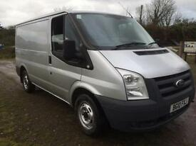 2010 FORD TRANSIT SWB 115 T280 SILVER 77K ONE OWNER