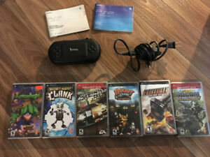 PSP 2001 and PSP Games