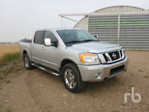 2012 Nissan Titan-Innisfree, AB-Unreserved Public Auction