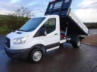 FORD TRANSIT TIPPER 350 L2H1 2.2 tdci 125psi 10available 10,000-30,000 miles, Wh
