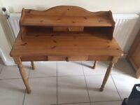 Pine desk/ table / dresser