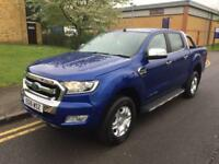 2016 Ford Ranger 3.2 TDCi Limited 2 Double Cab Pickup 4x4 4dr EU6 Automatic Pick