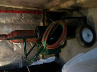 Oxygen and Acetylene Cart
