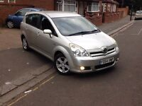 TOYOTA COROLLA VERSO 7 SEATER AUTOMATIC NOT HONDA NISSAN VAUXHALL FORD