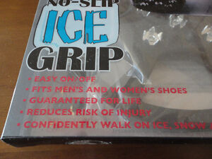 Brand new in box Ice Grip winter boots slip on Size XL London Ontario image 8