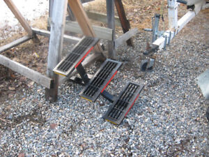 metal  camper or trailer steps