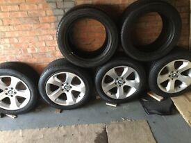 BMW/VW T4/Vivaro Alloy wheels and tyres