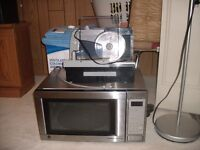 Microwave and/or rival food slicer