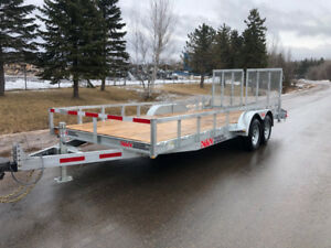 2019 N&N Galvanized Utility Trailer. New!