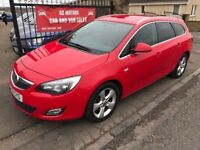 2011 VAUXHALL ASTRA 1.7 CDTI TOURER, 1 YEAR MOT, NOT FOCUS MEGANE GOLF I30 MONDEO