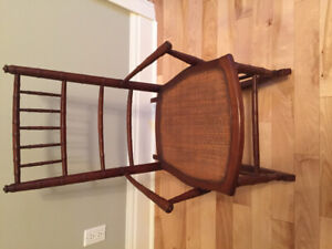 Antique Rocker and Doll