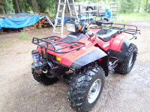 Honda Fourtrax 350cc 4x4 with front winch