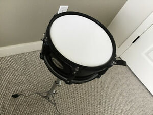 Pulse snare drum with mute pad