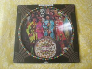 Picture Disc Vinyl LP THE BEATLES Sgt. Peppers L.H.C.B. + Cover