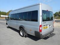 2012 12 FORD TRANSIT 430 LWB EL 135PS 17-SEATS DIESEL