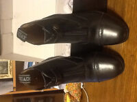 SIZE 7 ALL ITALIAN LEATHER RIDING BOOTS