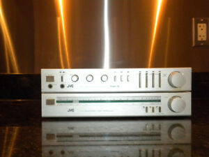 JVC matching intregrated amplifier and tuner