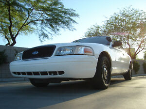2008+ Ford Crown Victoria Police Interceptor Sedan