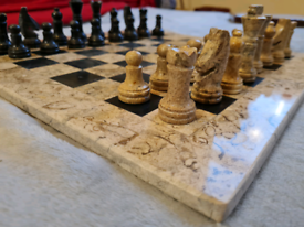 Pure Marble Chess Set