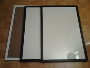"""Three Large Wooden 24x36"""" Picture Frames"""