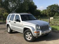 Jeep Cherokee 3.7 ( 208bhp ) 4X4 Auto Limited 2002 (51)